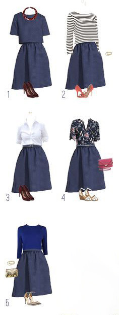 Même jupe, différents styles.jpg