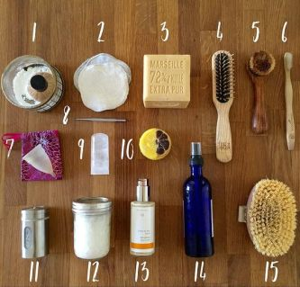 5 produits avoir dans sa salle de bain pour une beaut au naturel femme part - Astuce rangement produit salle de bain ...