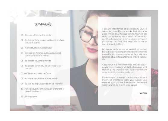 Sommaire_florilège de citations