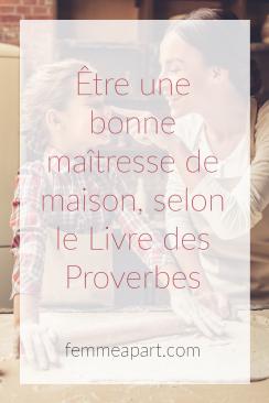 Livre des proverbes